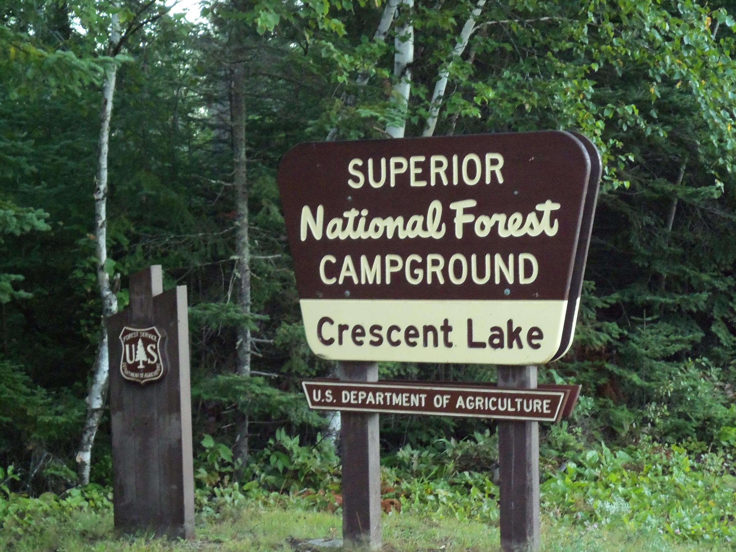 BWCA Brule Lake Entry - Campsites on Entry Point? Boundary