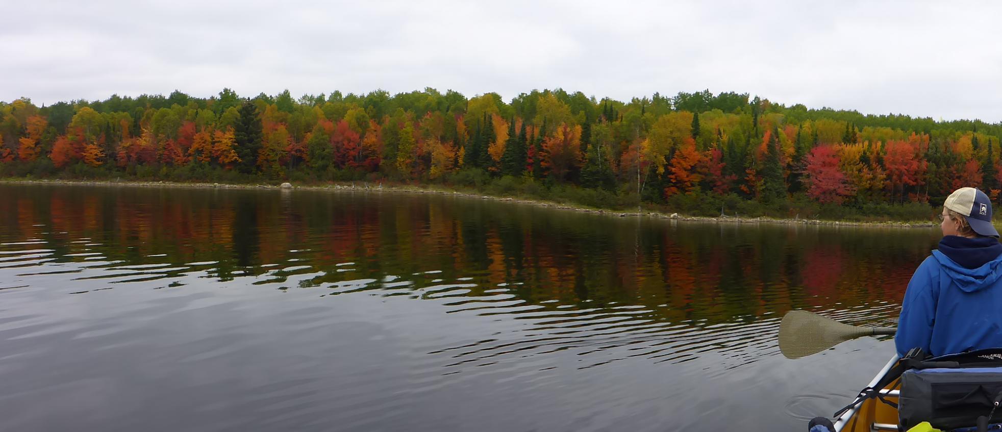 Fall Quetico Lake